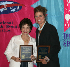 Marilyn Eldridge, President and Rhonda Calvert