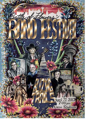 Cover Art for 2017 Band Festival